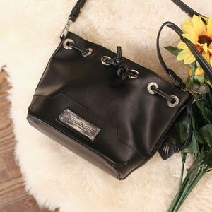 Ashley Bridget Leather Bucket Bag NEW